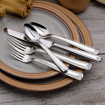 Liberty Tabletop Prestige 45 Piece Flatware Set for 8 Made in USA