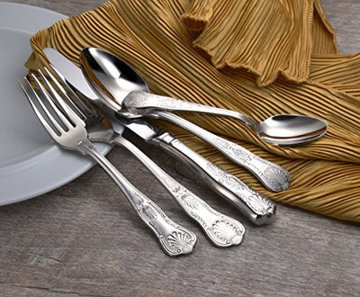 Liberty Tabletop Sheffield 45 Piece Flatware Set for 8 Made in USA