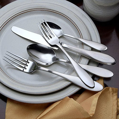 Liberty Tabletop Mallory 65 Piece Flatware Set for 12 Made in USA