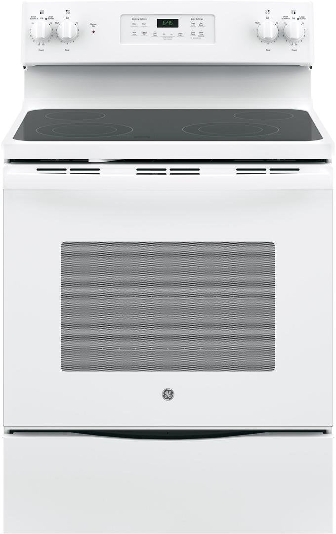 GE Appliances JB645DKWW, White
