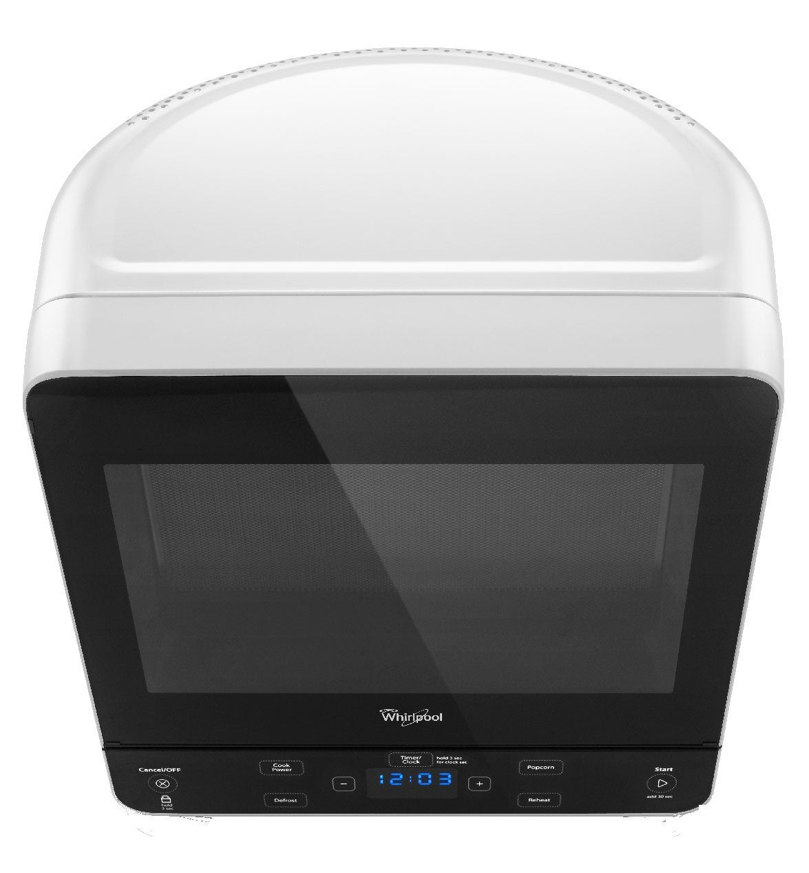 Whirlpool WMC20005YW  Countertop Microwave, 0.5 Cu. Ft., White