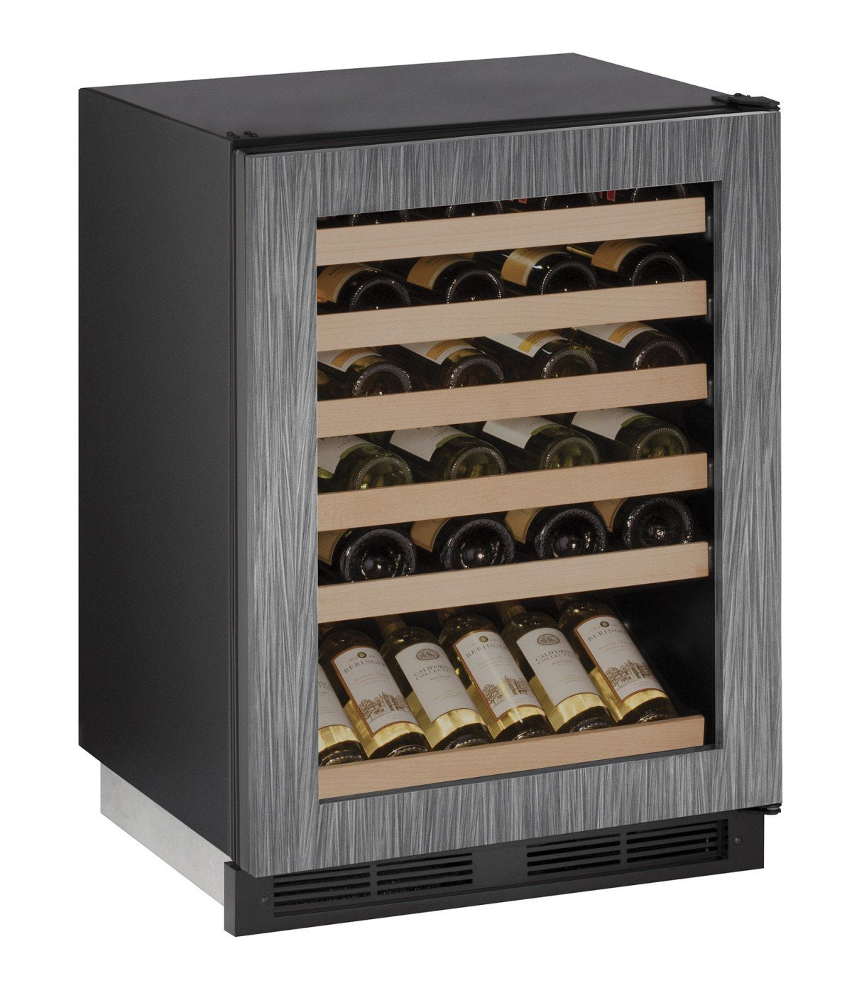 "ULINE U-Line U1224WCINT00B 24"" Built-In Wine Storage, Integrated"