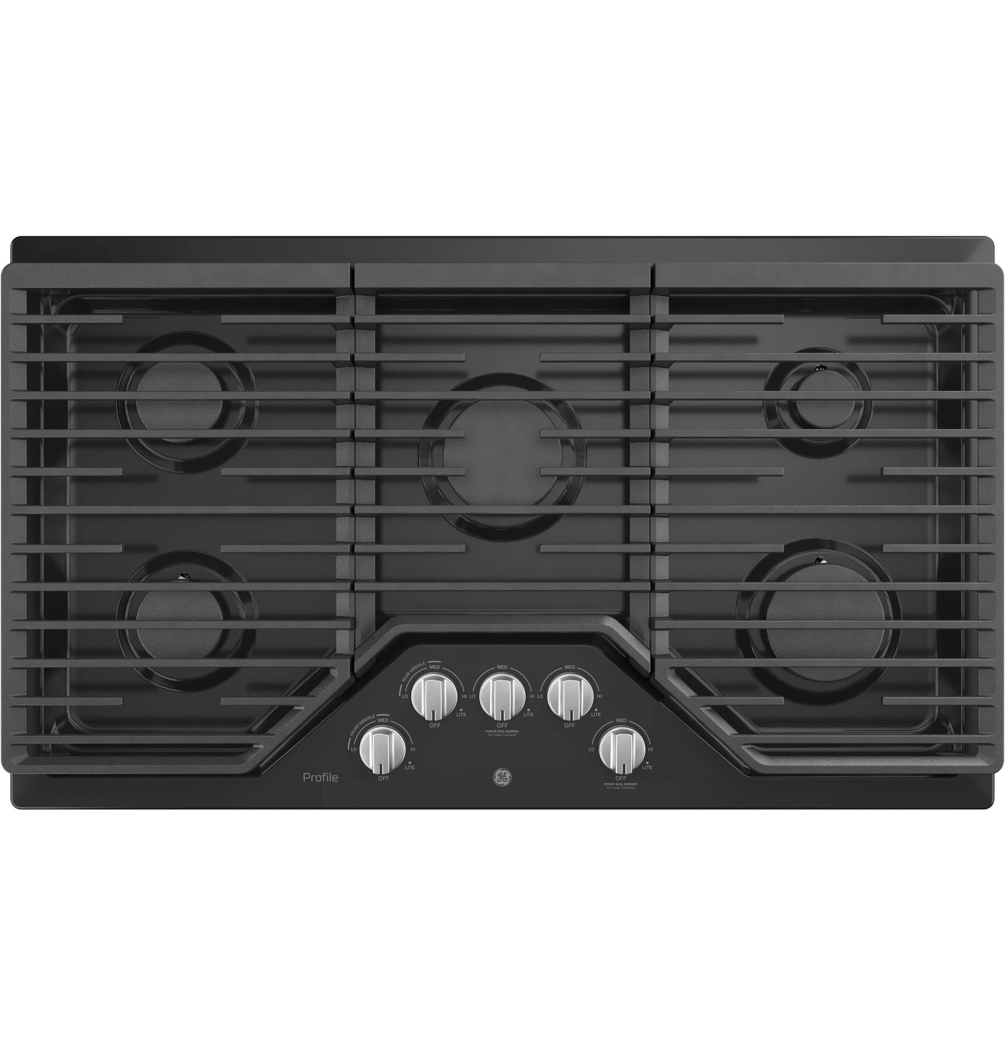 GE PGP7036DLBB 36 Built-In Gas Cooktop