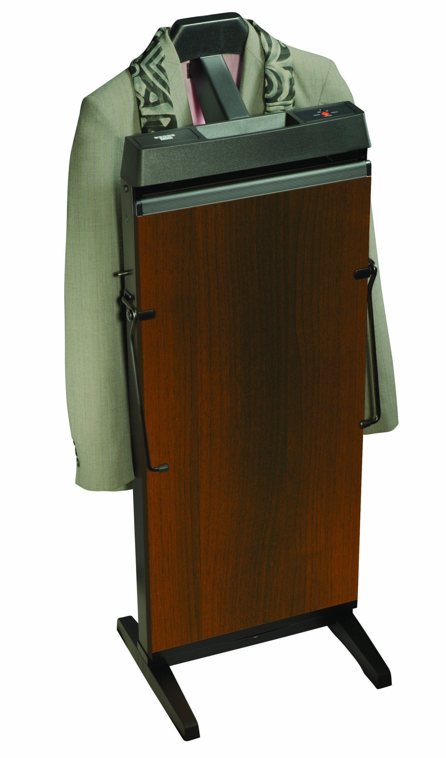 Corby Jerdon 3300W 30 mins Cycle Pants Press with Automatic Shut Down and Manual Cancel Options, Walnut Finish