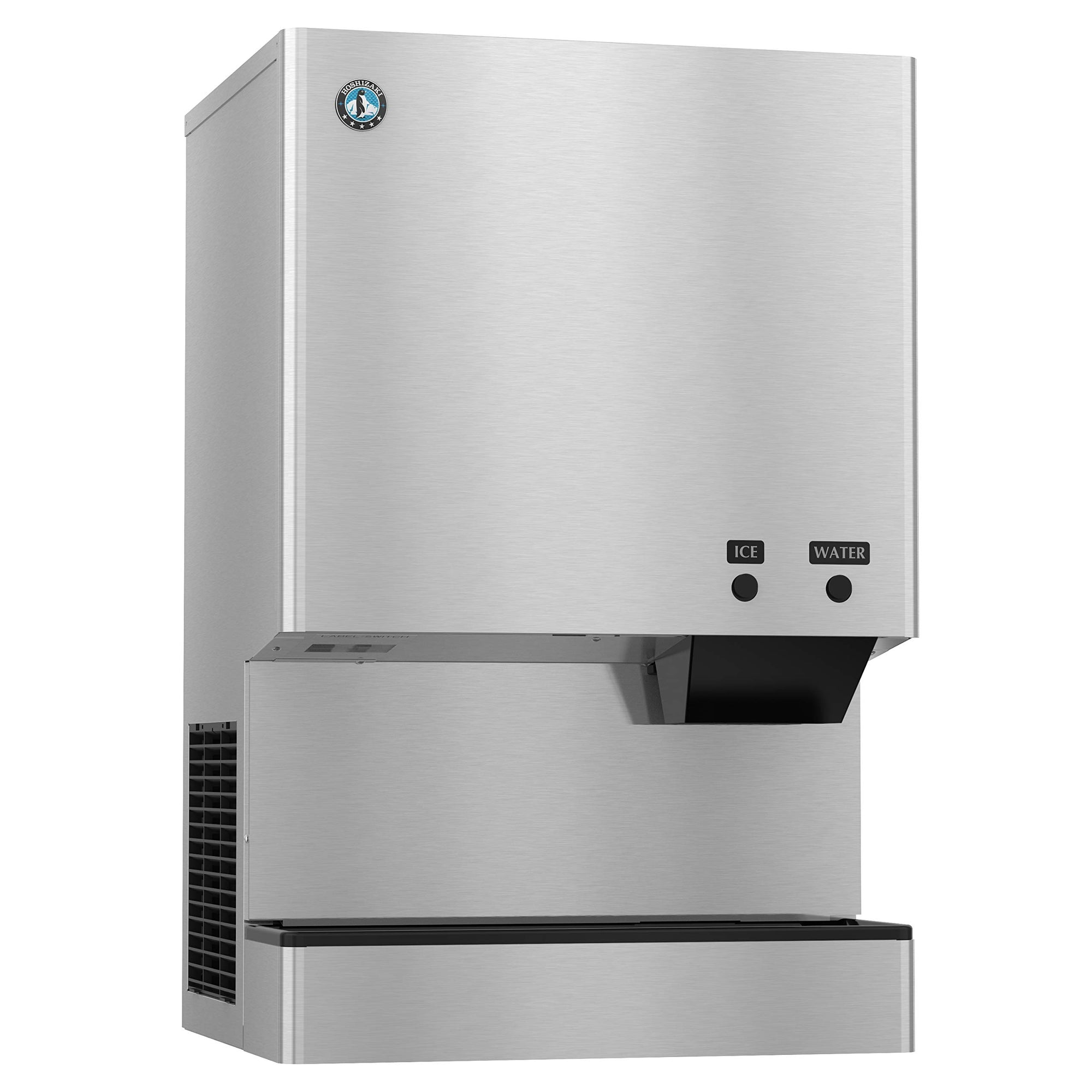 Hoshizaki DCM-300BAH Air-Cooled Ice Maker Water and Ice Dispenser Built in 40lb Storage Bin