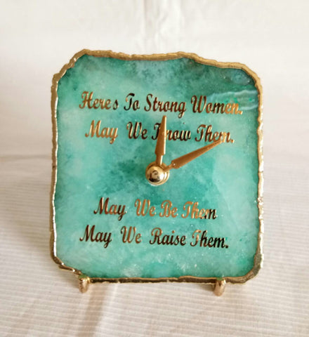 ADD ON - Personalize your Clock or Agate Slice