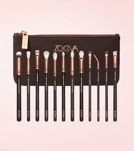 Rose Golden Complete Eye Brush Set Vol. 1