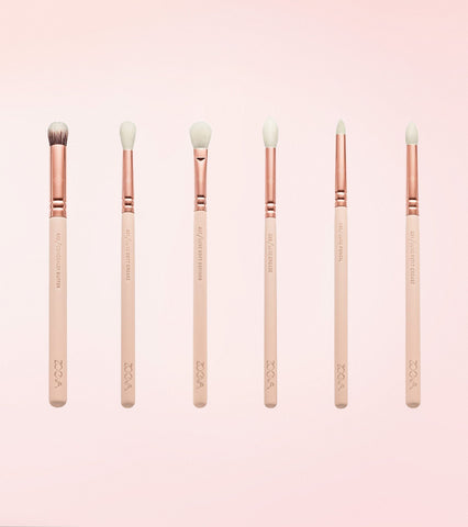 Rose Golden Complete Eye Brush Set Vol. 2