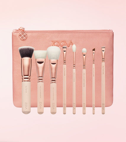 Rose Golden Luxury Brush Set Vol. 2