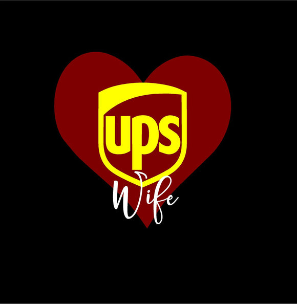 UPS Wife Decal