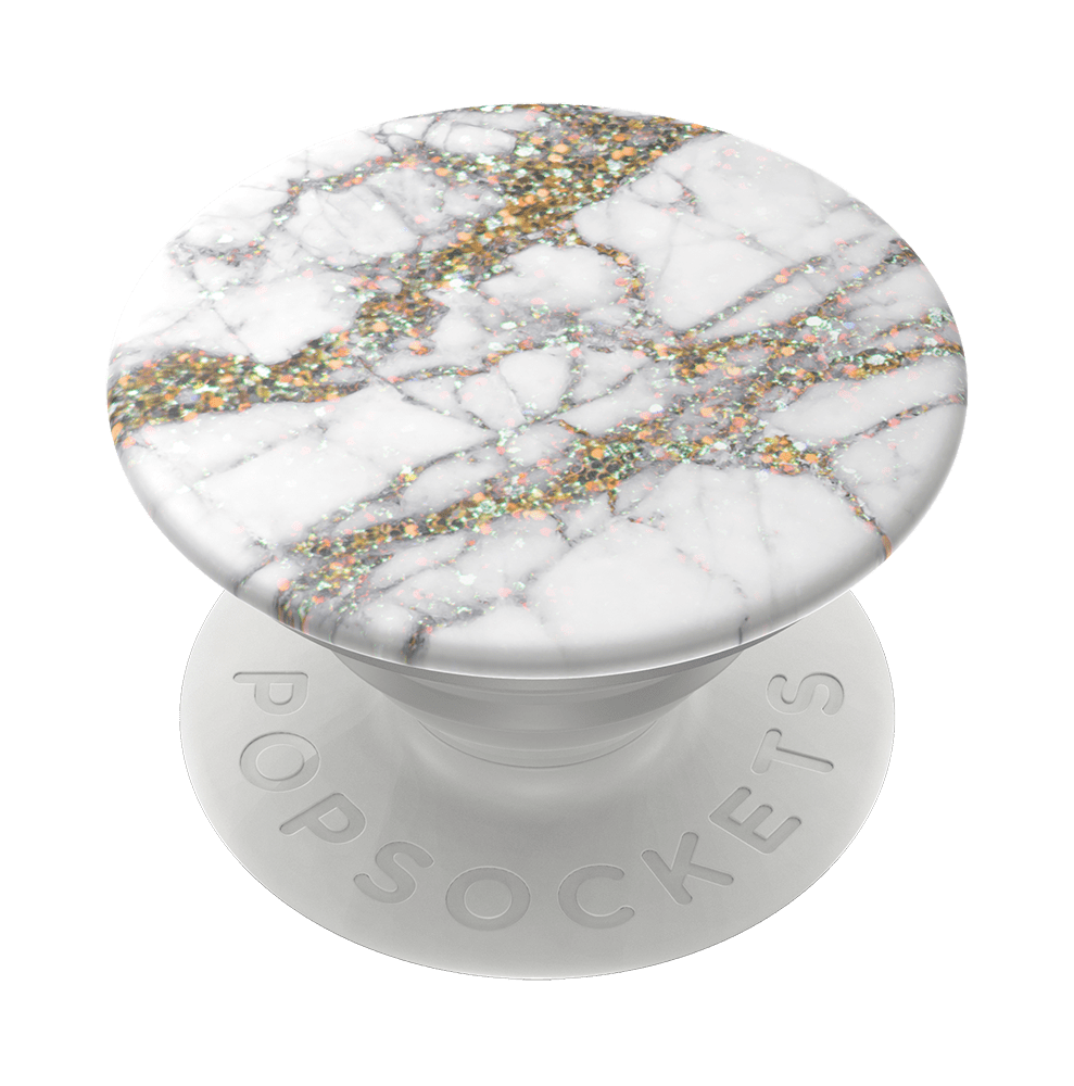 Gold Sparkle Marble, PopSockets