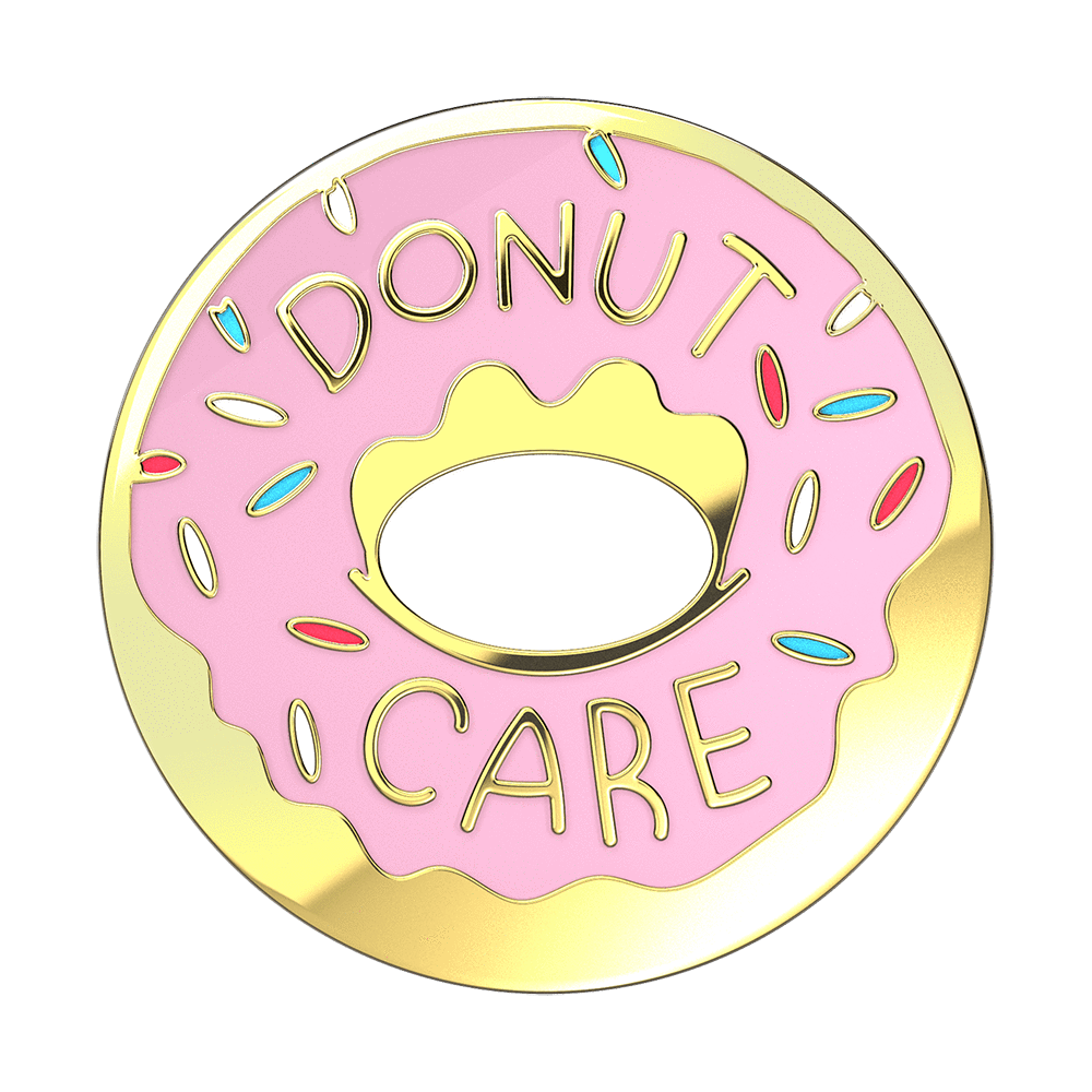 Donut Care Enamel, PopSockets
