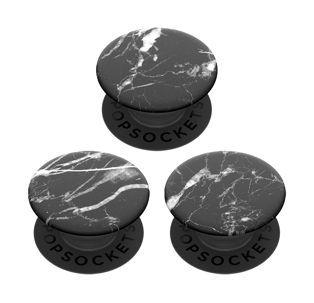 PopMinis Black Marble, PopSockets