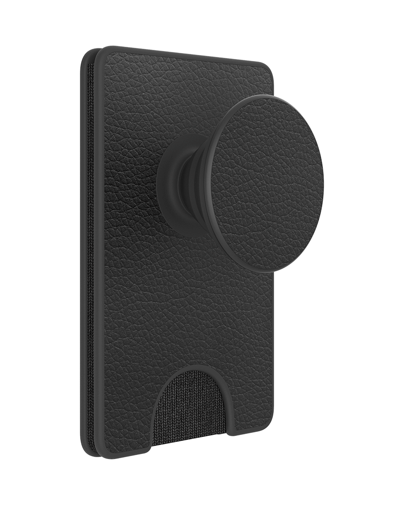 PopWallet+ Pebbled Vegan Leather, PopSockets