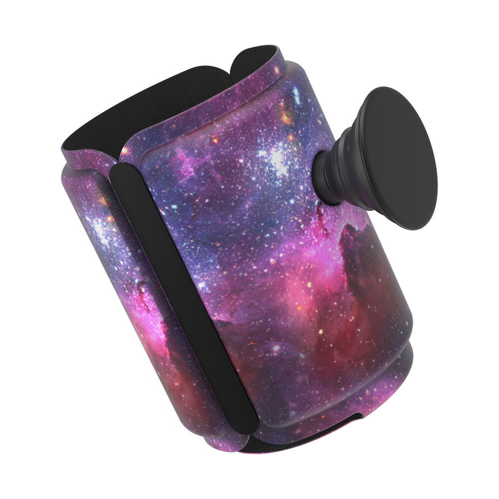 PopThirst Can Holder Blue Nebula, PopSockets