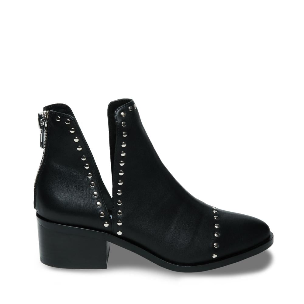 Conspire Ankle Boot Black Leather Steve Madden