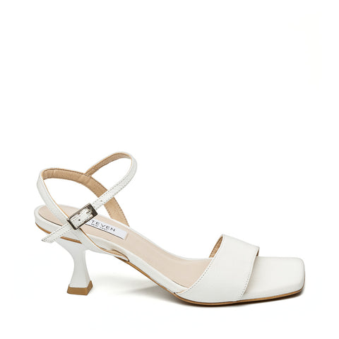 Agnes WHITE LEATHER