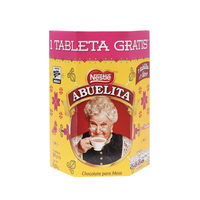 Chocolate Abuelita en tablillas.