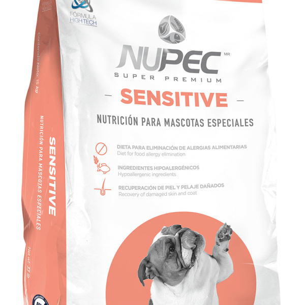 Nupec sensitive salmón 15 kg