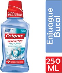 Colgate Enjuague Bucal Colgate Sensitive Pro Alivio 250 Ml Azul