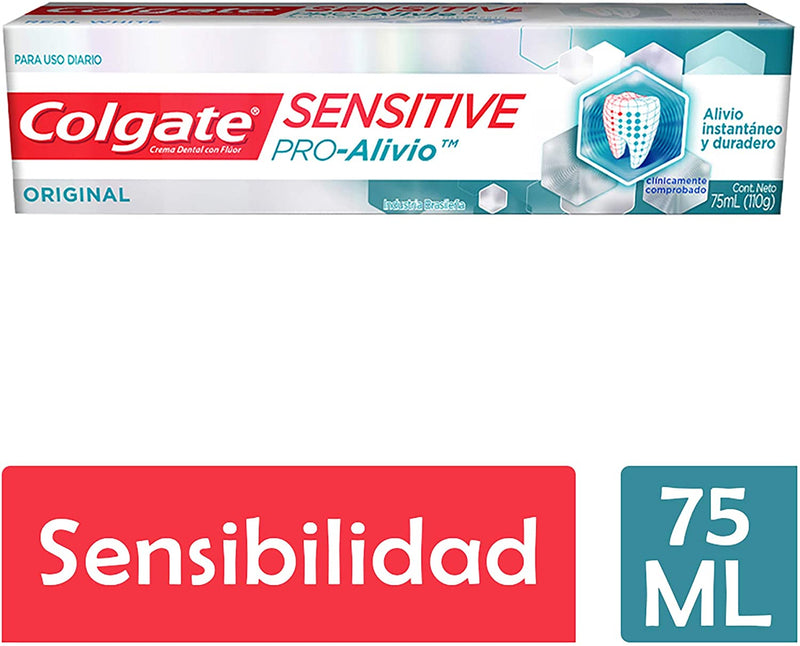 Pasta Dental Colgate Sensitive Pro Alivio Sensibilidad 75 ML