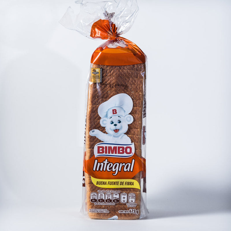 Pan integral bimbo 675 GR