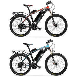 Otto Electric Bike Ebike 48V 13A T8 Shimano 21 Speed 6061 Aluminium Alloy Frame with Rear Rack