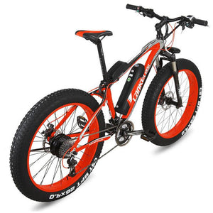 OTTO FAT eBike XF4000 Electric Bicycle Super Broad Tyre The Best Electric Bike Electric Mountain Bike-Mountain Bike-Otto-Red/Black-Power Bikes