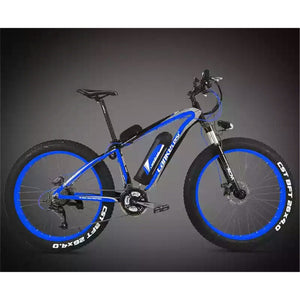 OTTO FAT eBike XF4000 Electric Bicycle Super Broad Tyre The Best Electric Bike Electric Mountain Bike-Mountain Bike-Otto-Blue/Black-Power Bikes