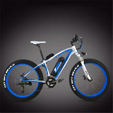 OTTO FAT eBike XF4000 Electric Bicycle Super Broad Tyre The Best Electric Bike Electric Mountain Bike-Mountain Bike-Otto-Blue/White-Power Bikes