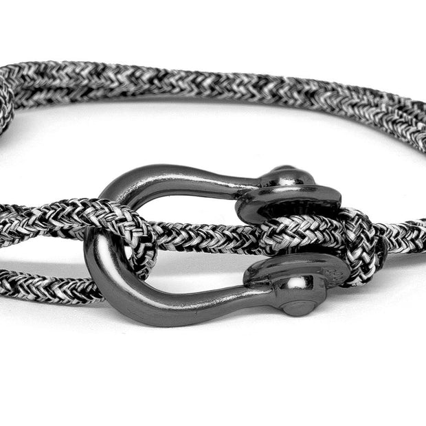 Kalymnos / Black Melange / Chrome Black 3mm - Kalymnos - Inspired by Rock-climbing - Topologie JP