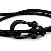 Kalymnos / Black Patterned / Matte Black 3mm - Kalymnos - Inspired by Rock-climbing - Topologie JP