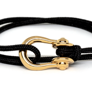 Kalymnos / Black Solid / Gold 3mm - Kalymnos - Inspired by Rock-climbing - Topologie JP