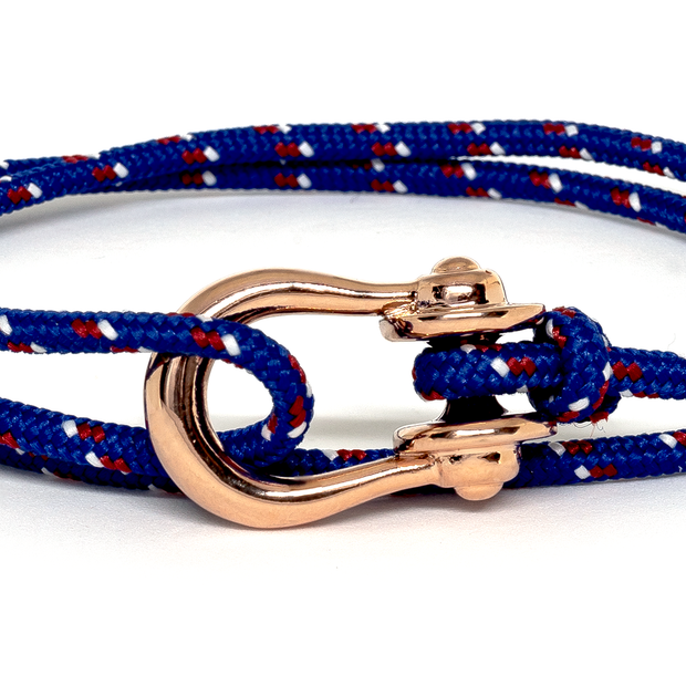 Kalymnos / Blue Patterned / Rose Gold 3mm - Kalymnos - 公式通販 - Topologie (トポロジー)