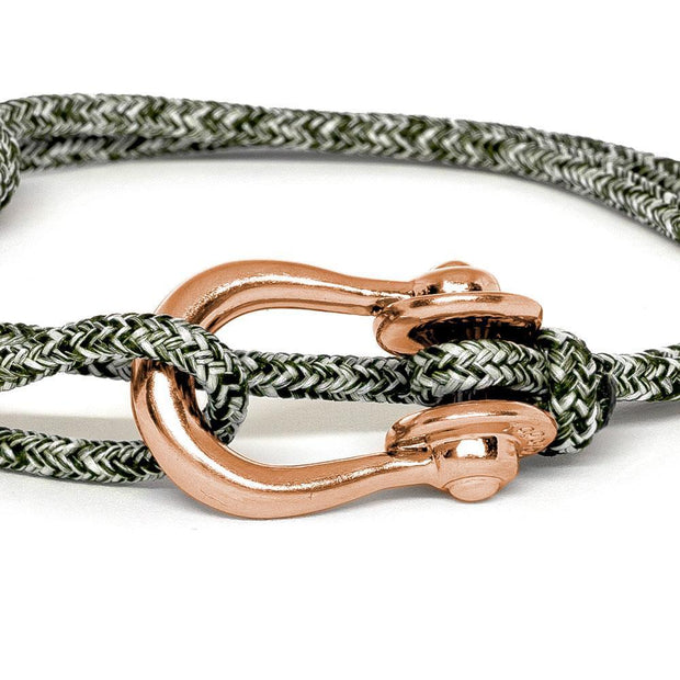 Kalymnos / Green Melange / Rose Gold 3mm - Kalymnos - Inspired by Rock-climbing - Topologie JP