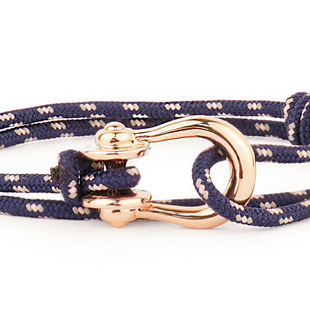 Kalymnos / Midnight Patterned / Rose Gold 3mm - Kalymnos - Inspired by Rock-climbing - Topologie JP