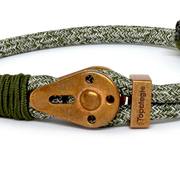 Yosemite / Green Melange / Raw Brass 5mm - Yosemite - Inspired by Rock-climbing - Topologie JP