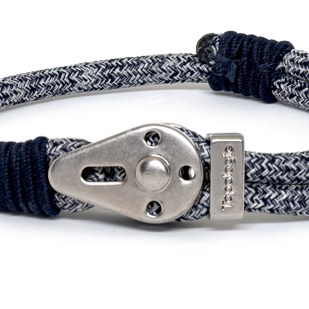 Yosemite / Navy Melange / Silver 5mm - Yosemite - Inspired by Rock-climbing - Topologie JP