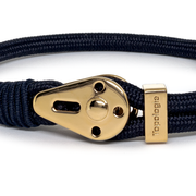 Yosemite / Navy Solid / Gold 5mm - Yosemite - Inspired by Rock-climbing - Topologie JP