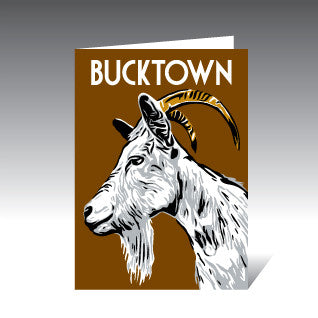 Bucktown Greeting Cards