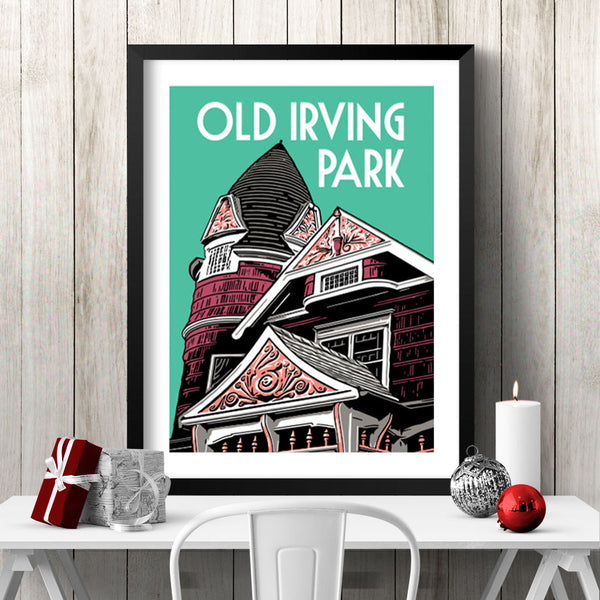 Old Irving Park Poster
