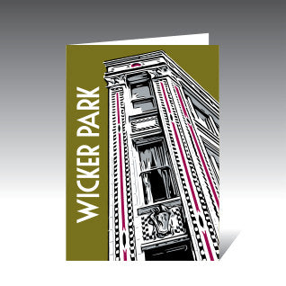 Wicker Park Greeting Cards