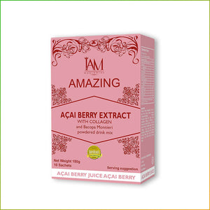 Acai Berry Extract with Collagen and Bacopa Monnieri