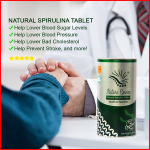 Natural Spirulina 250 Tablets - 40% OFF!