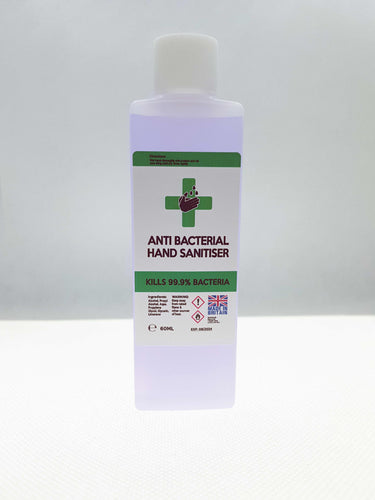 60ml Hand Sanitiser Liquid