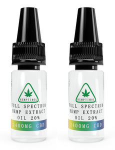 CBD Oil 24ml - Full Spectrum 5% / 10% / 20%