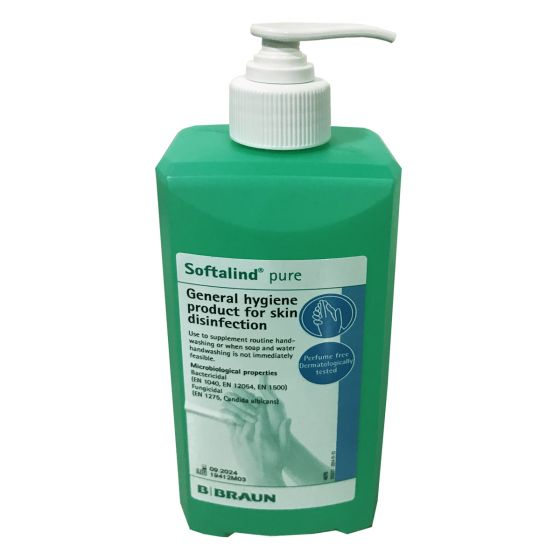 Softalind Pure 500ml Sanitiser