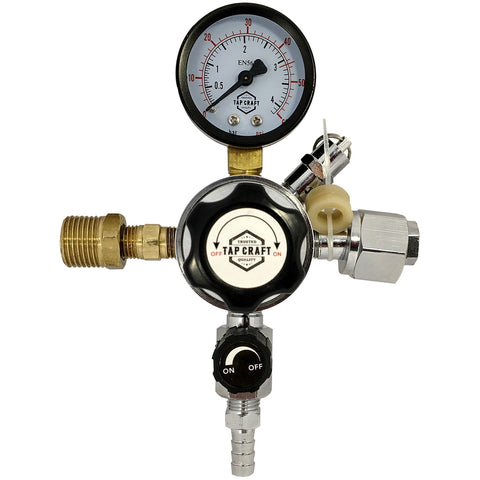 Co2 Regulator w/ Dual Body Attachment