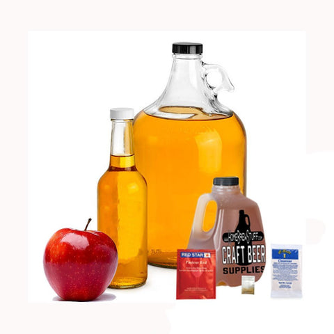 1 Gallon Nano-Meadery | Cyser Apple and Honey Recipe Refill Kit