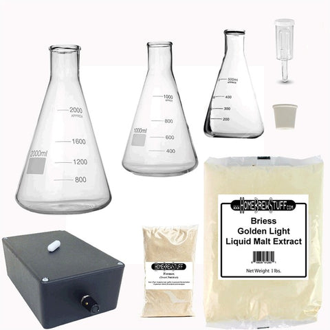 Deluxe Yeast Starter Kit Stir Plate + Flask